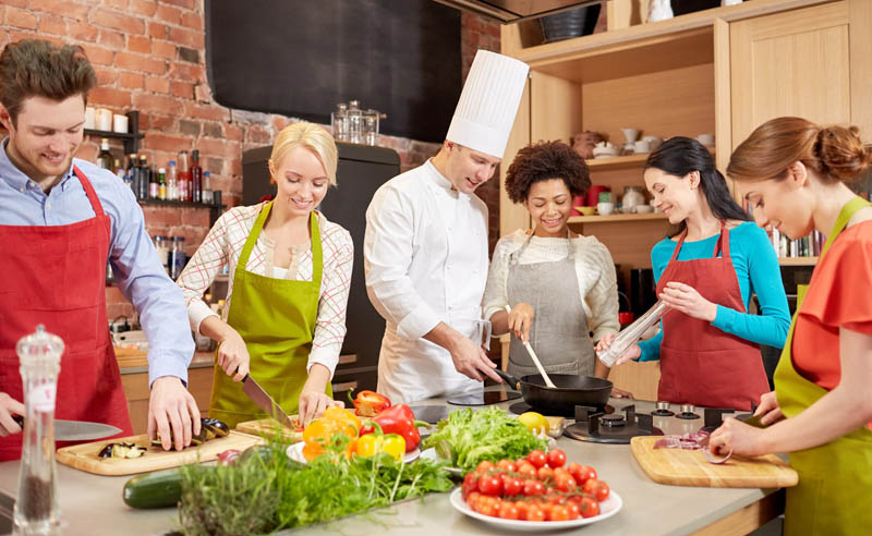 Discover the specialty foods with lake como cooking classes
